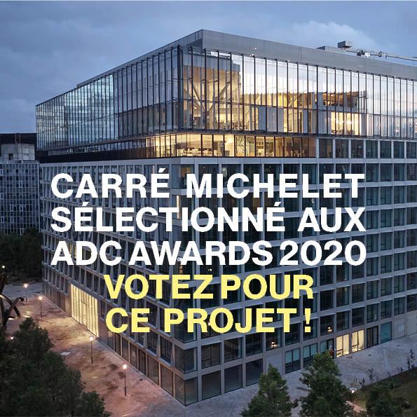 Carré Michelet sélectionné aux ADC Awards 2020 - © Cro&Co