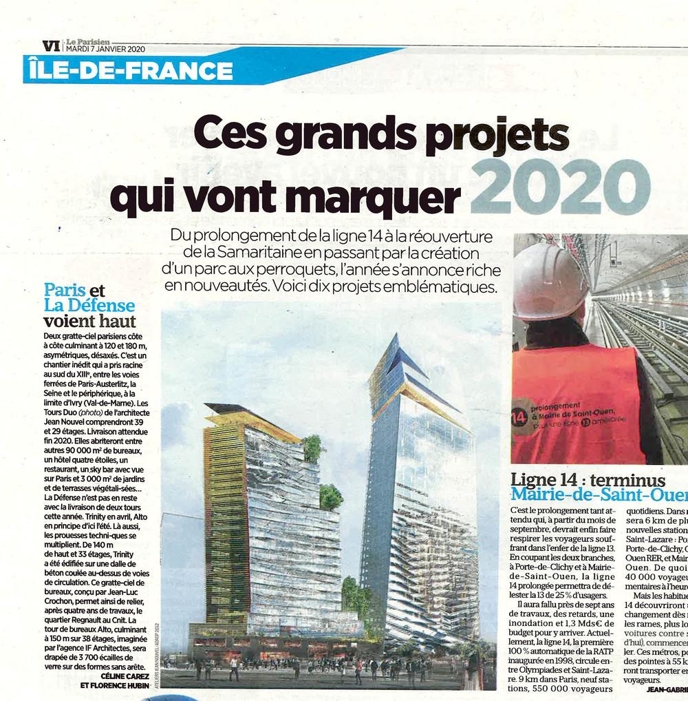 Ces grands projets qui vont marquer 2020 - © Cro&Co