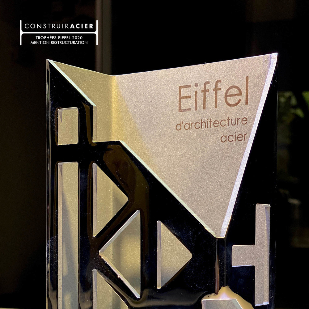 Winner of the Trophées Eiffel - © Cro&Co