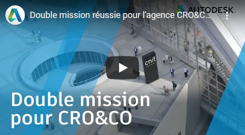 Video on the future Eole station (CNIT Paris La Défense), by Autodesk - © Cro&Co