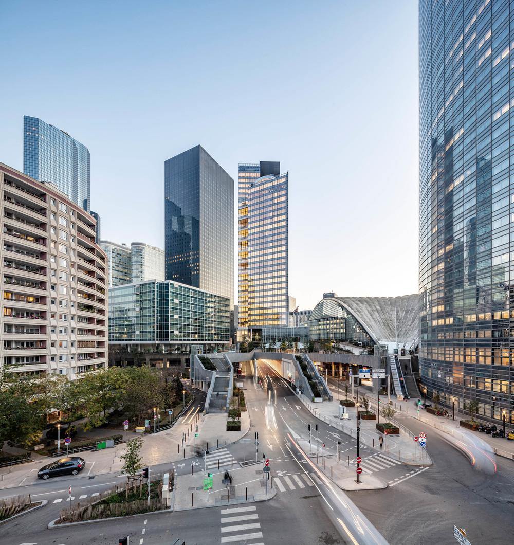 Tour Trinity, La Défense - © Cro&Co