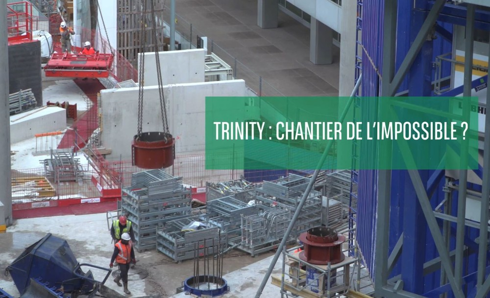 Trinity : Chantier de l'impossible ? - © Cro&Co
