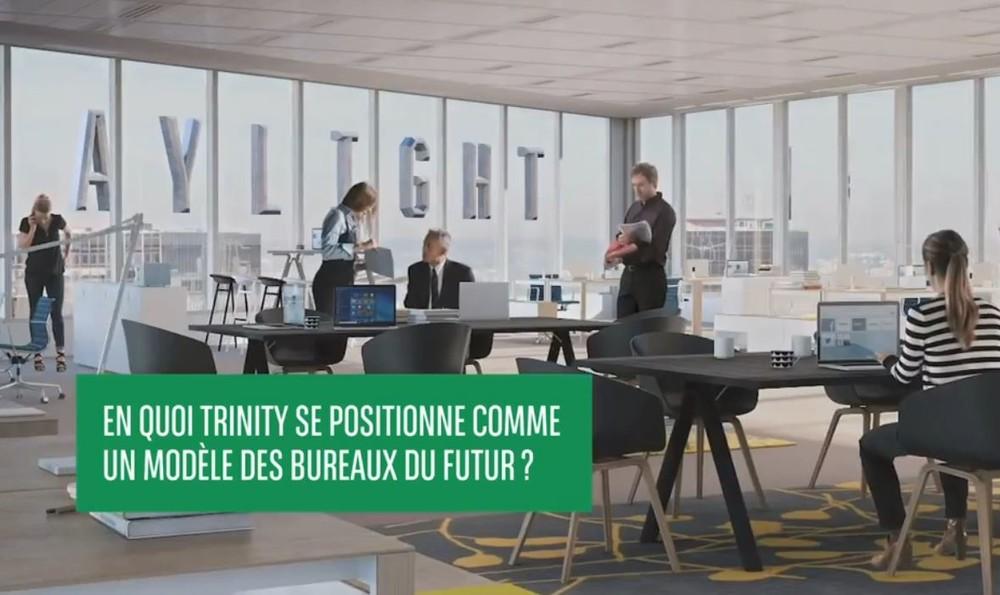 Trinity, un modèle de bureaux du futur - © Cro&Co