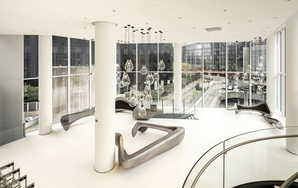Trinity, un tour de bureaux proposant des lieux de partage - © Cro&Co