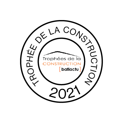 """Trophées de la Construction : Trinity remporte le prix dans la catégorie Bureauxaux"""" - © Cro&Co"""